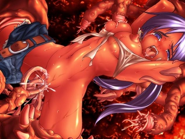 порно аниме 3д щупальца
