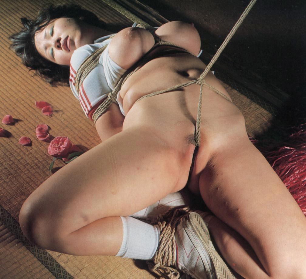 Asian sexy dominatrix bondage