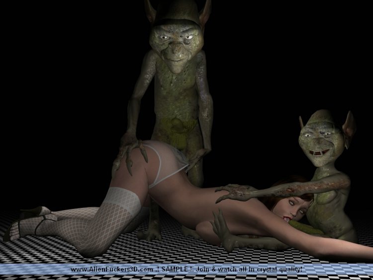 3d futanari babes with monster dicks 8