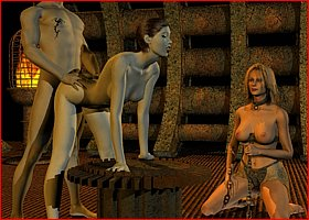 Sex with Vampires. Porn Horrors 3D Gallery # 11