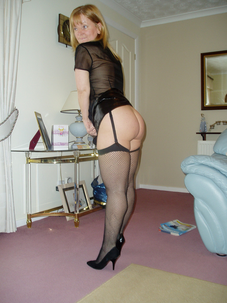 Big hairy wife exposed by her husband for men to get off 6
