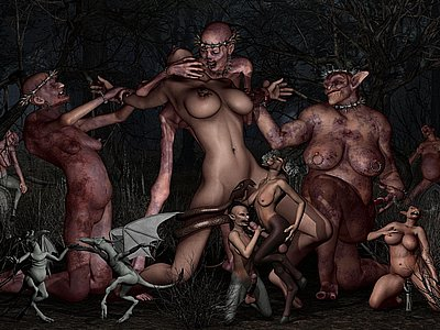 Fucked apart from Monsters