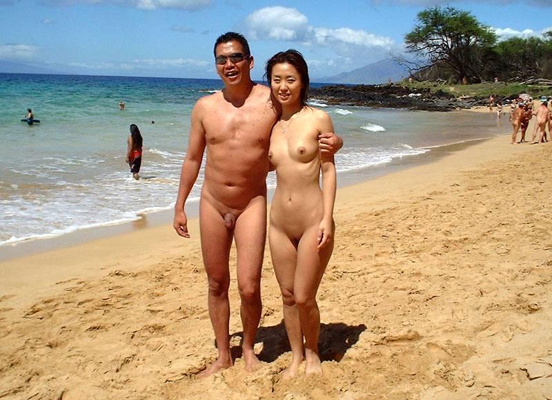 nudist in public places