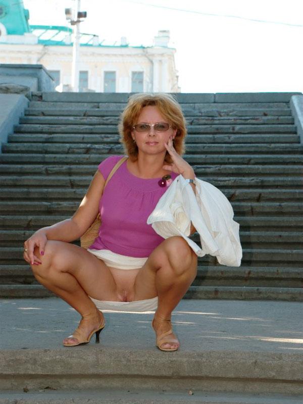 фото дамочек на улице