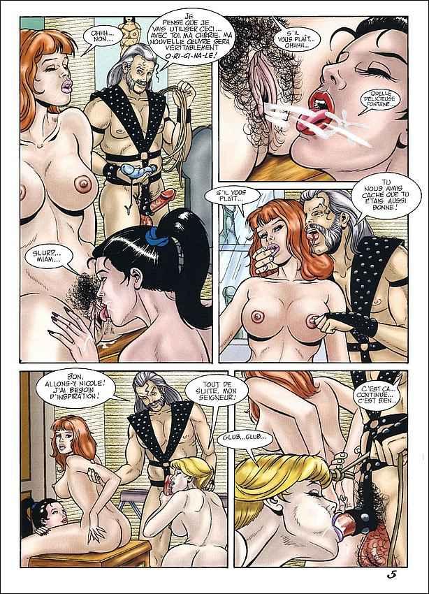 жесткие комиксы бдсм