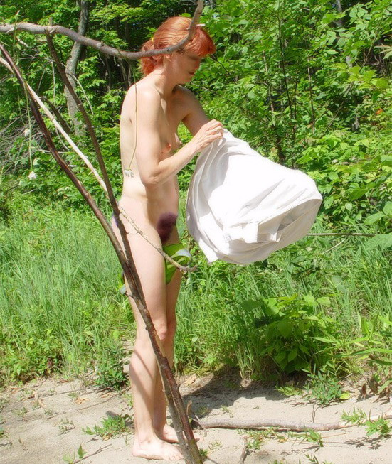 Mature Women Outdoors Se