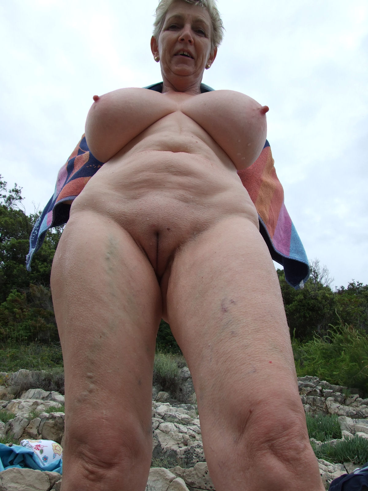old people outdoor sex