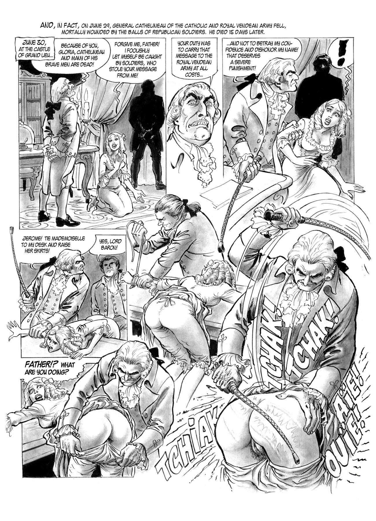 black and white sex drawn comics