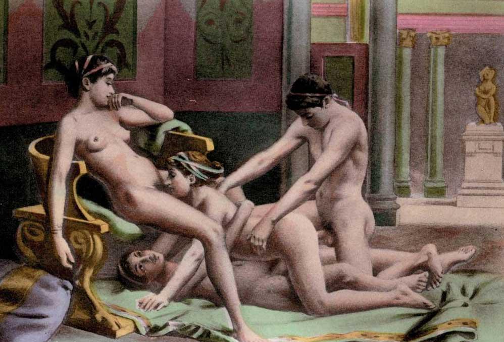 Сексуальные рабыни древнего рима