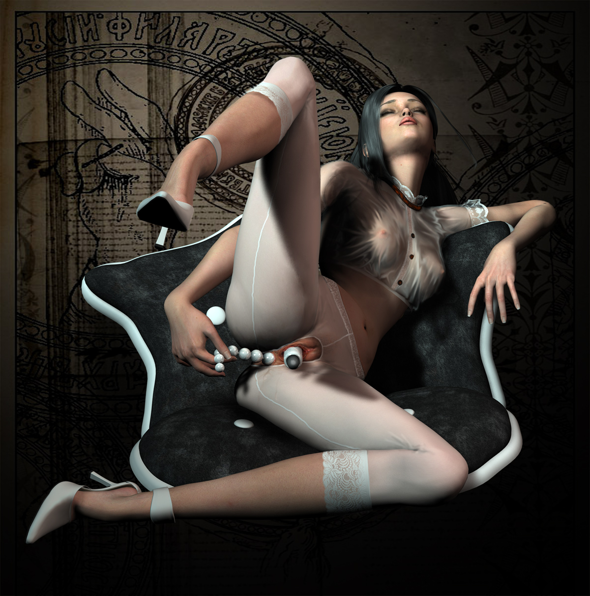 3d art gallery adult