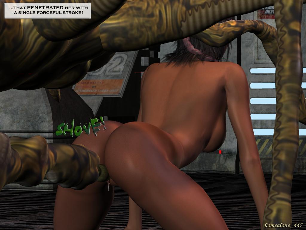 Monster breeding porn