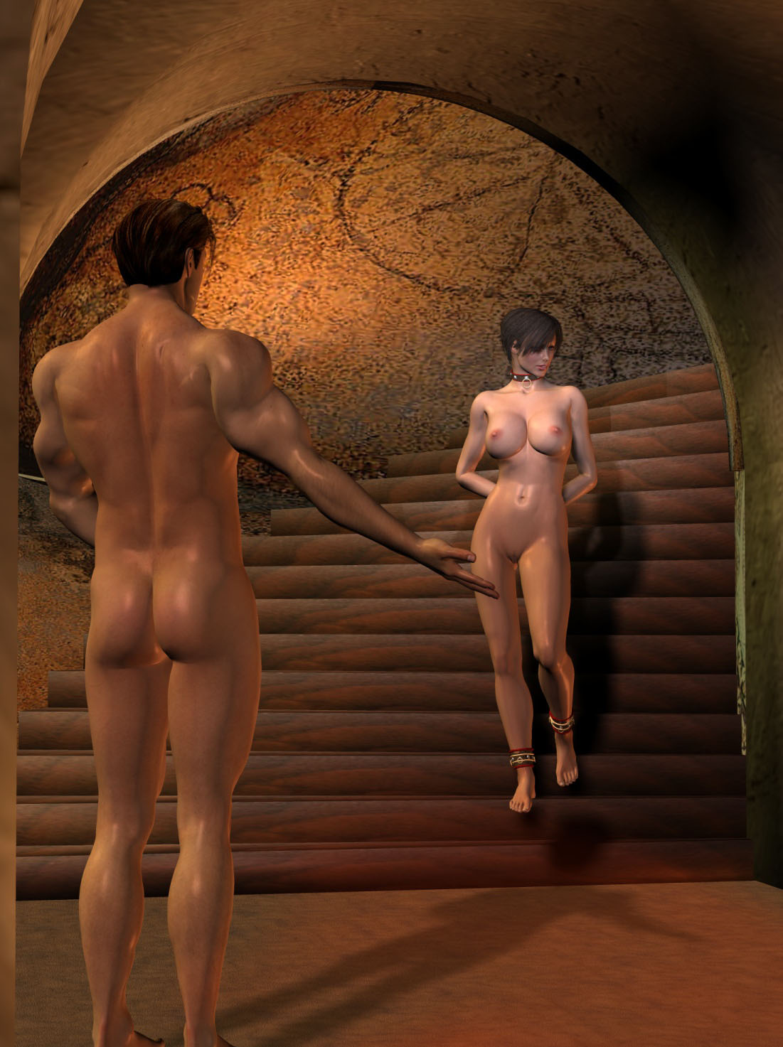 3d naked slaves smut pic