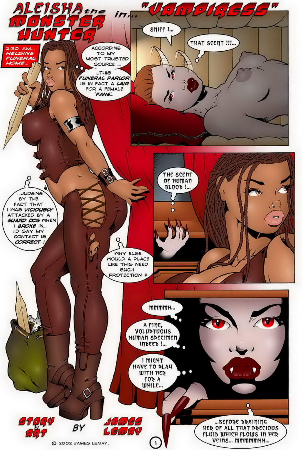 Free xxx vampiress galleries erotic comic
