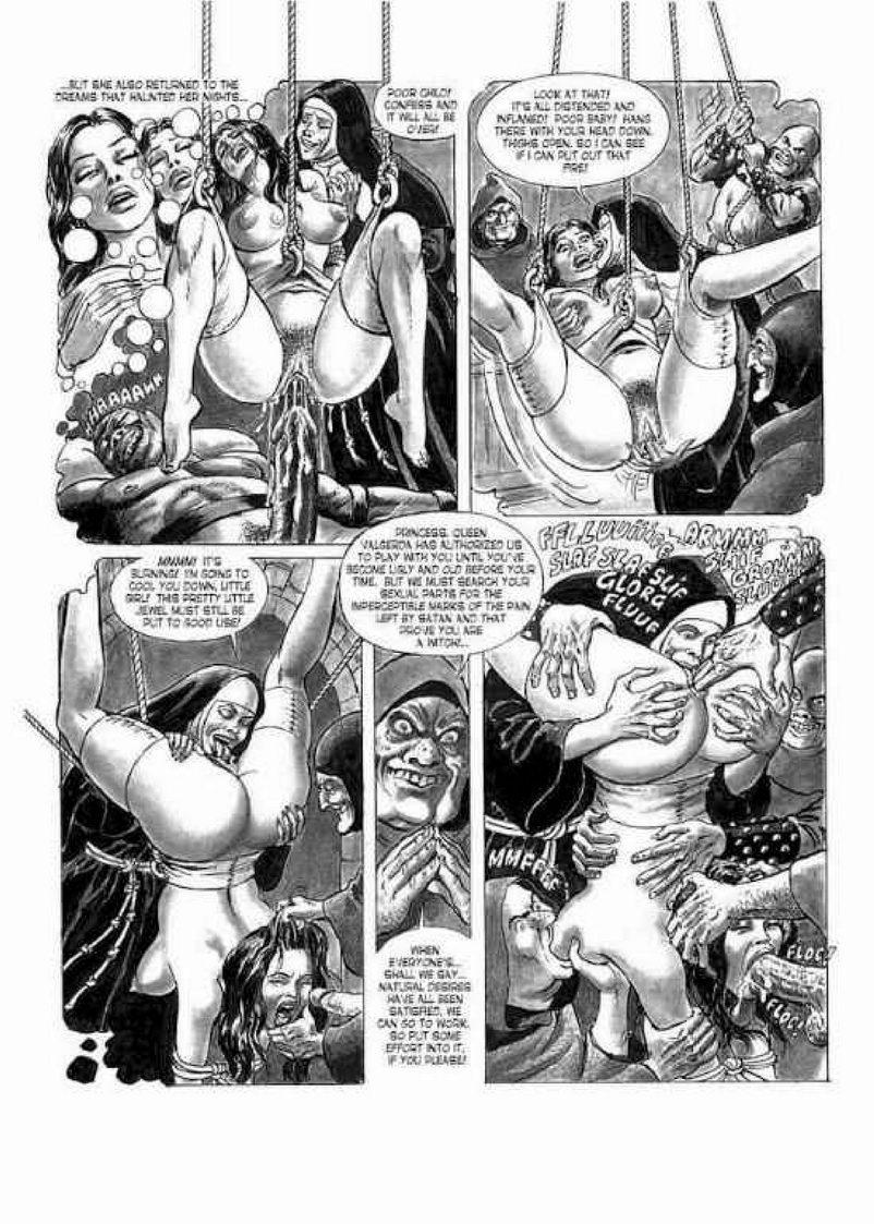 bdsm comics hildegard