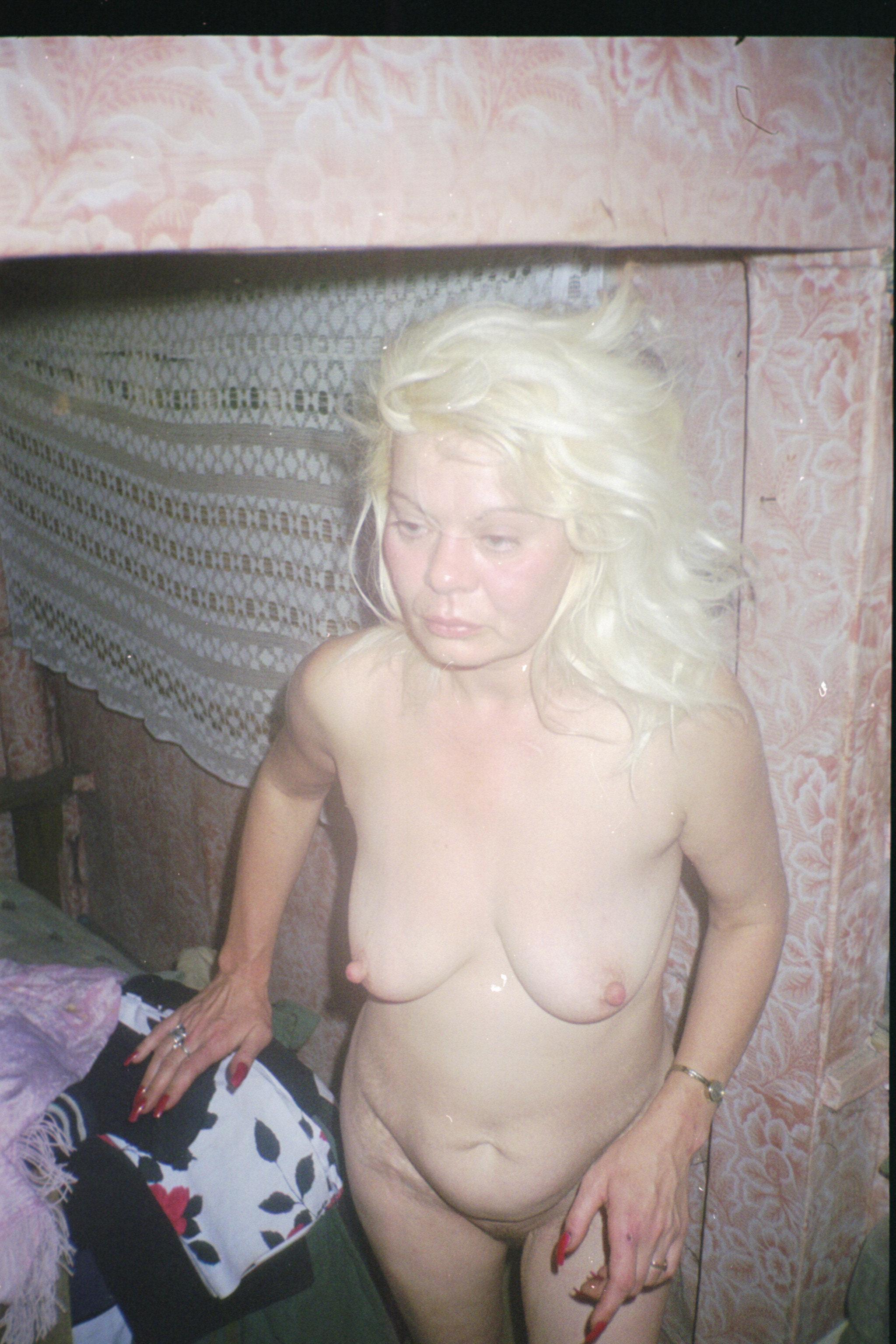 Пьяная баба старуха 8 фотография
