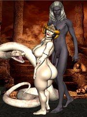3d organism alien mating