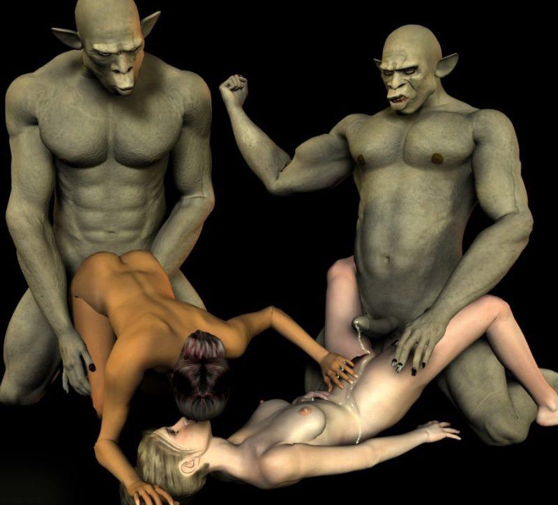 гей секс с монстрами видео