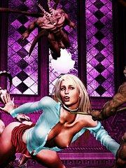 3d sex monster comics