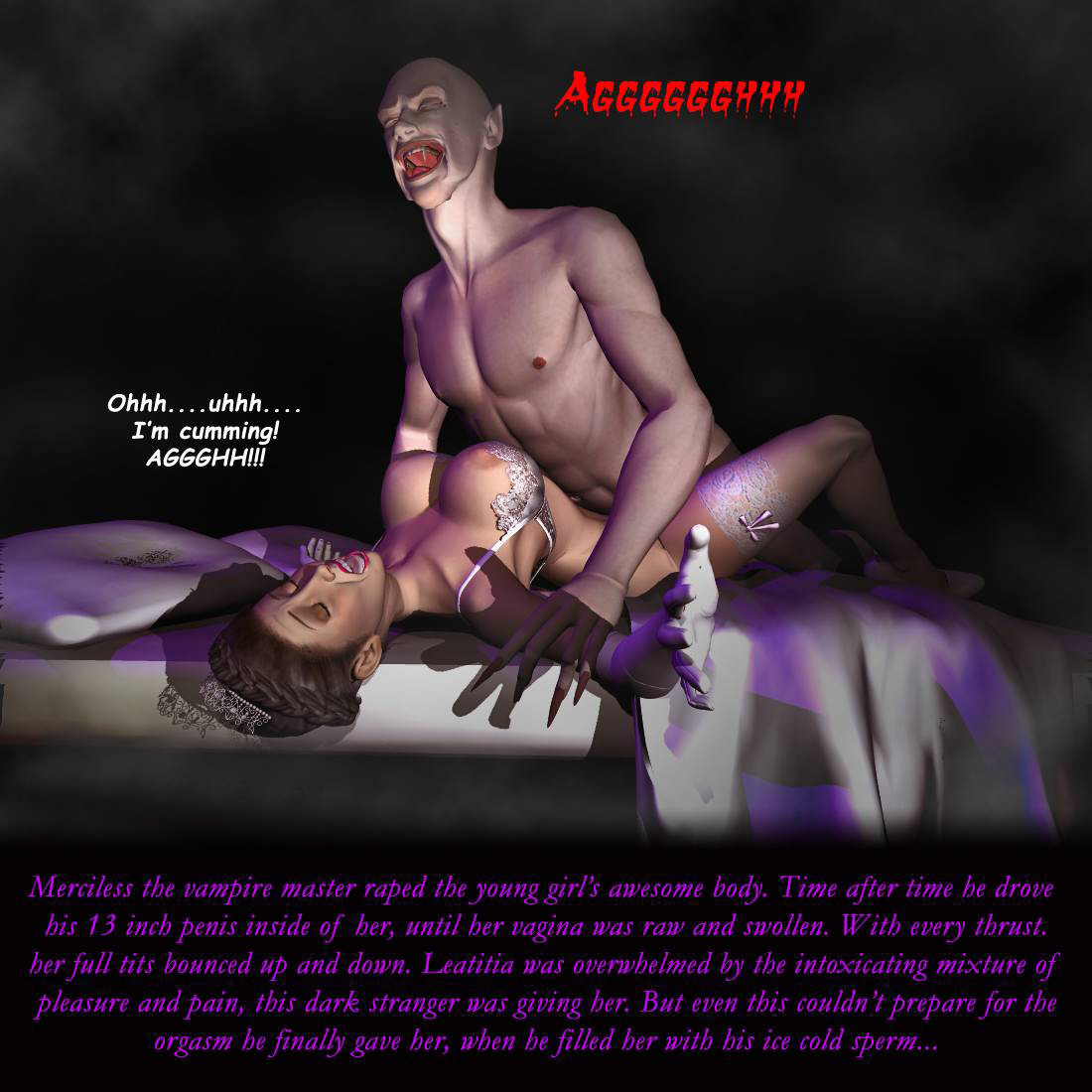 Hentai vampire horror video porno photos