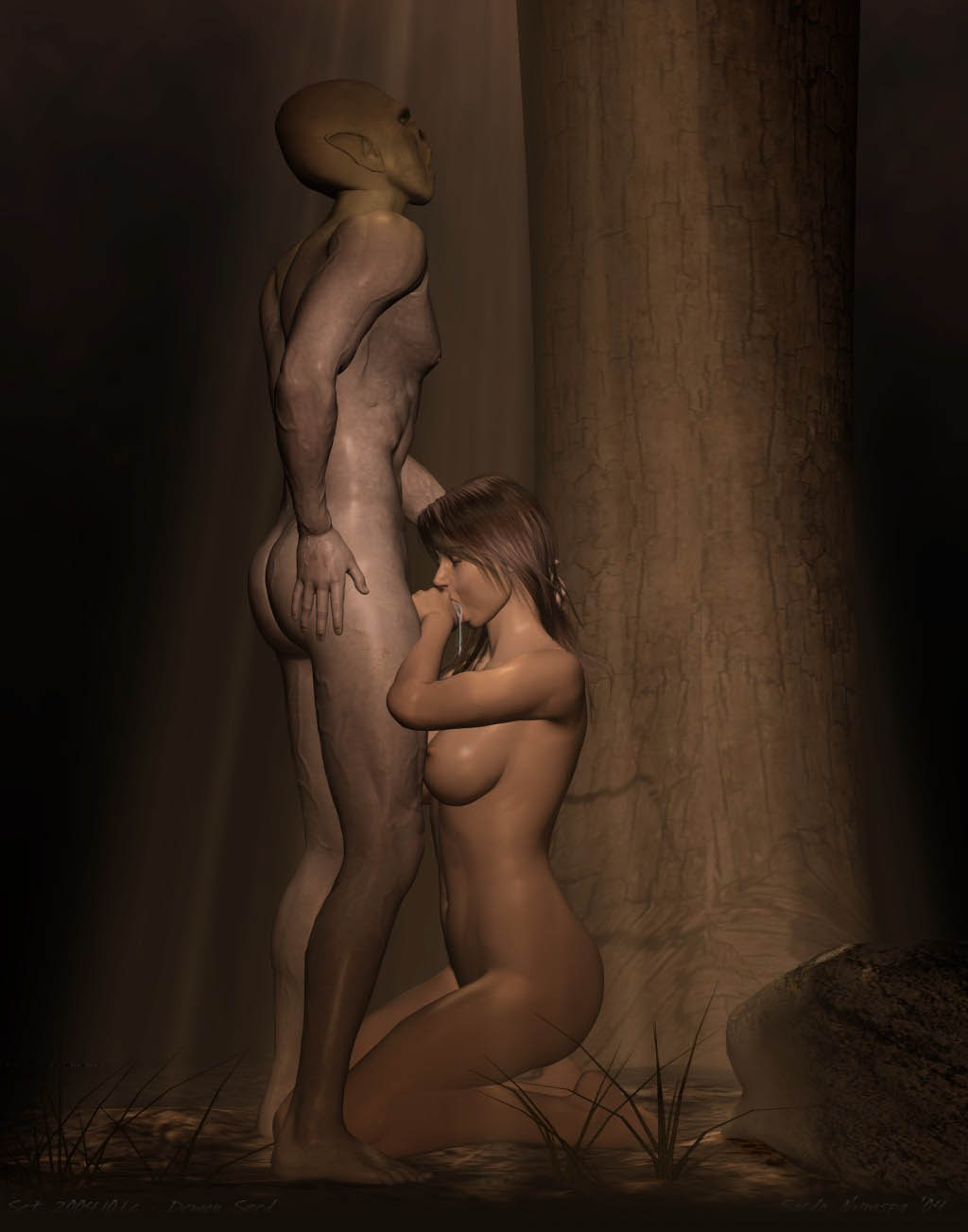 Wallpaper demon nude 3d hentia photo