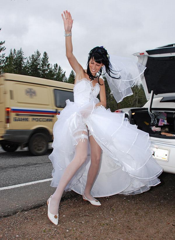 Фото невесты под юбкой 25 фотография