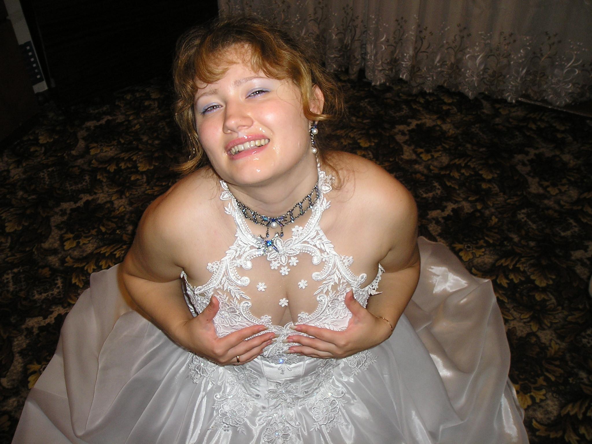 Сперма в невесту 4 фотография