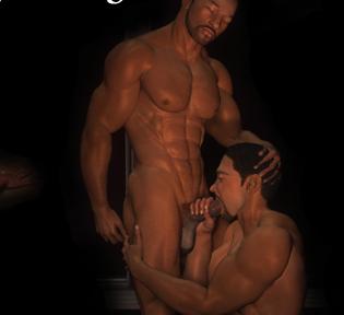 3D gay artwork