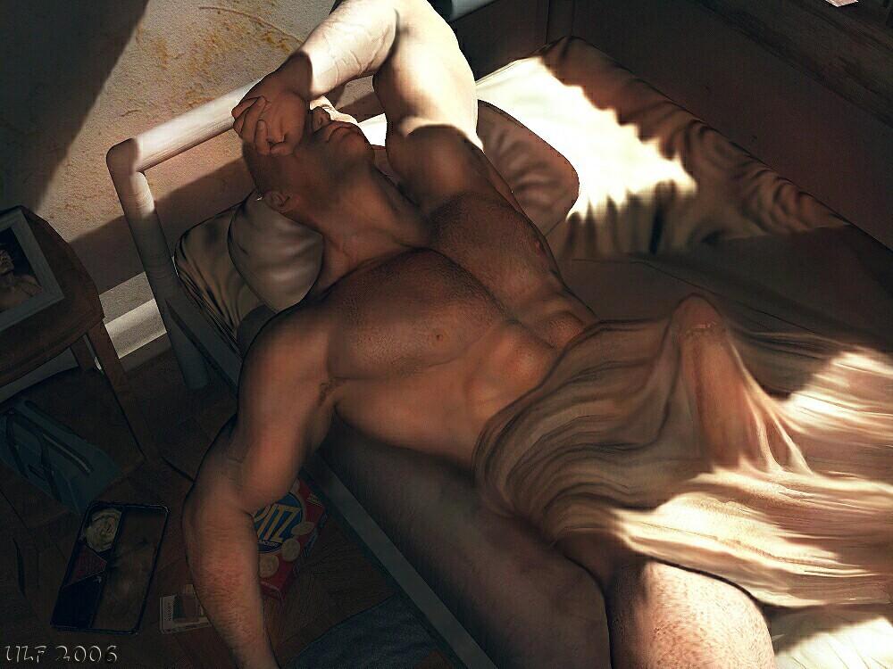 Gay Male Art Violent