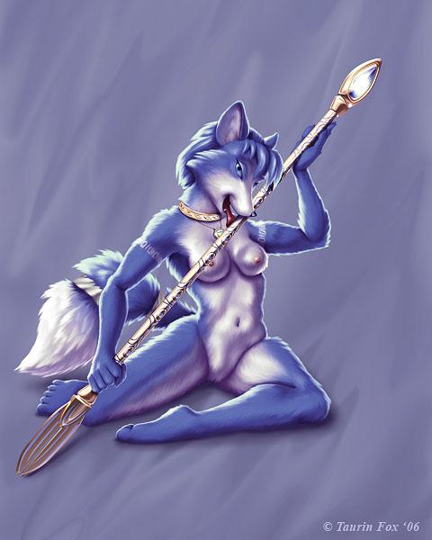 Вторая часть подборки артов с популярным персонажем игры - лисой Кристал.