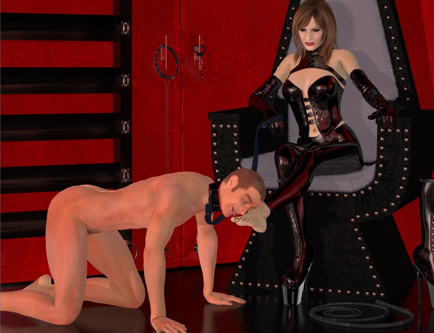 Хозяйка и раб в сексе 22 фотография