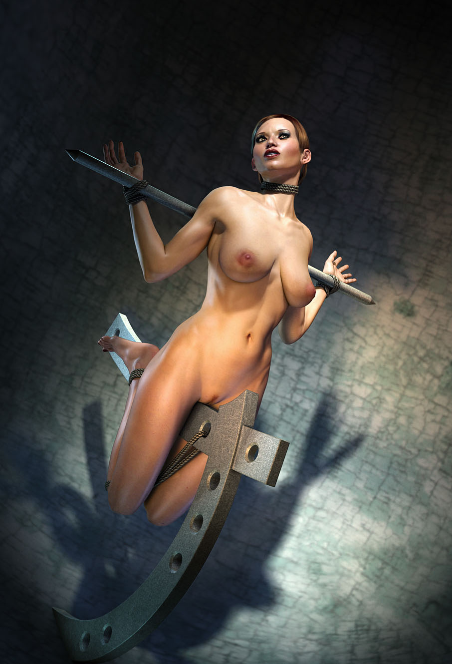 Cgi bondage artworks cartoon photo