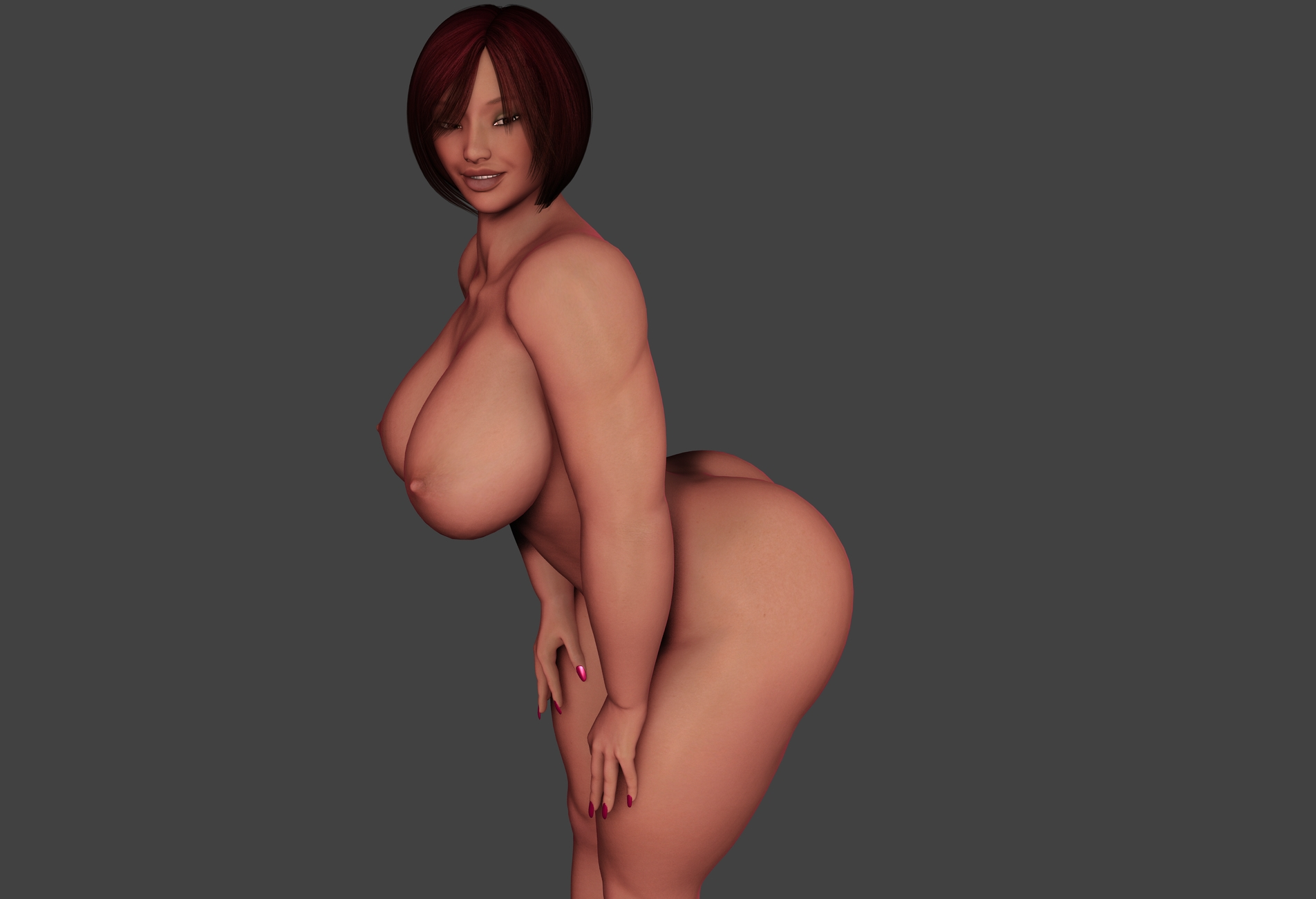 Hd 3d big boobs sexy image