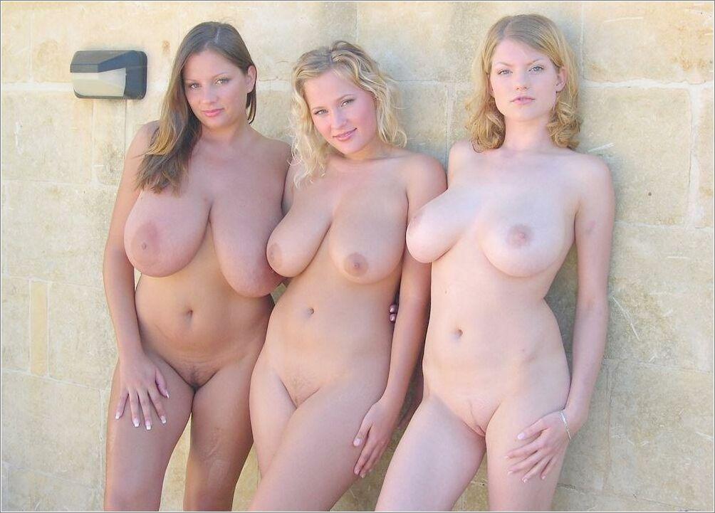 фото молодых полных голых девушек