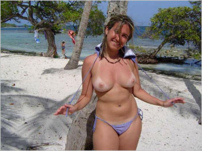фото на пляже частное голые