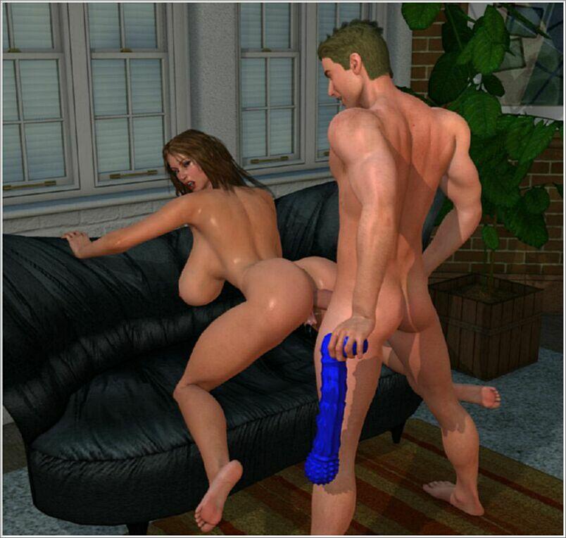 Онлайн порно 3д фото