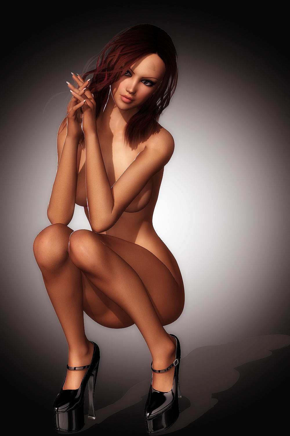 Hot sexy 3d animated naked girls hardcore photo