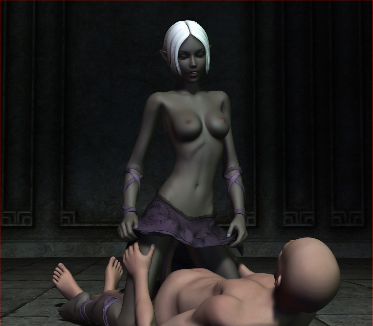 Demon girl game hacked sex sensual whore