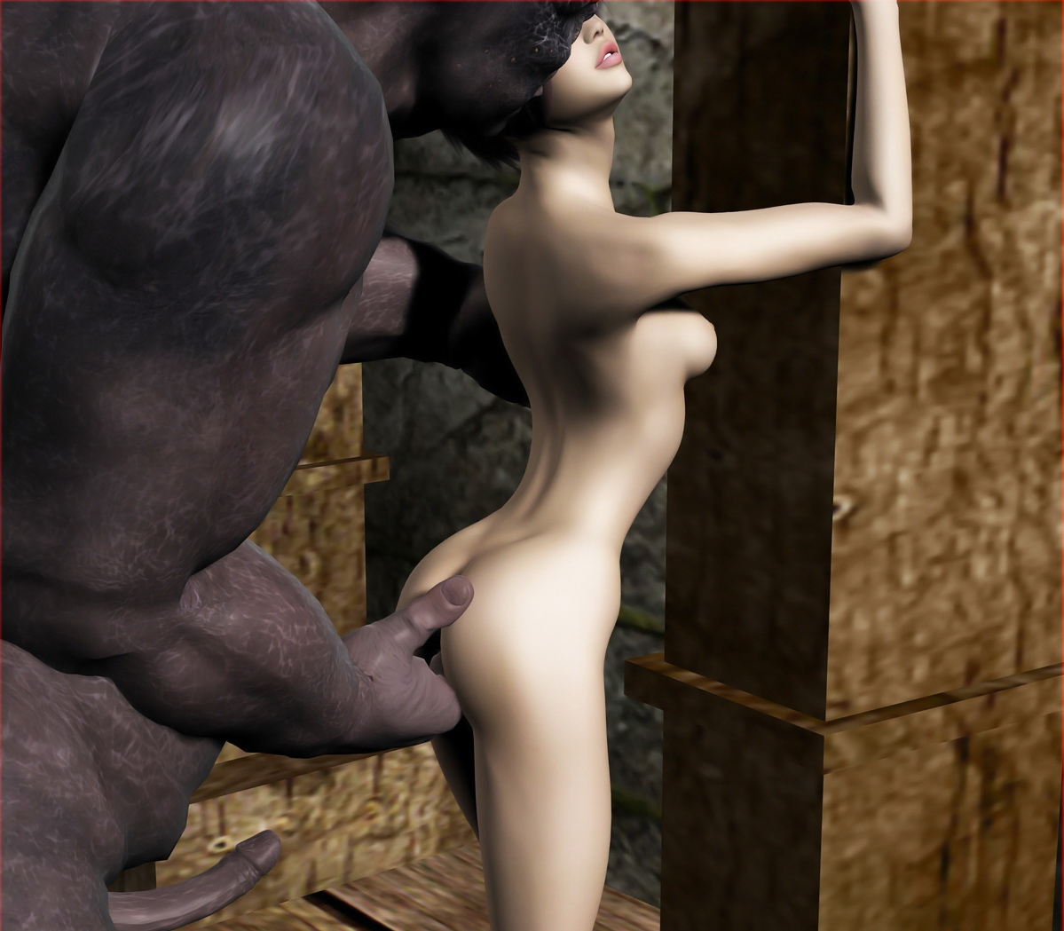 Monster sex 3d pigs and girks xxx photo