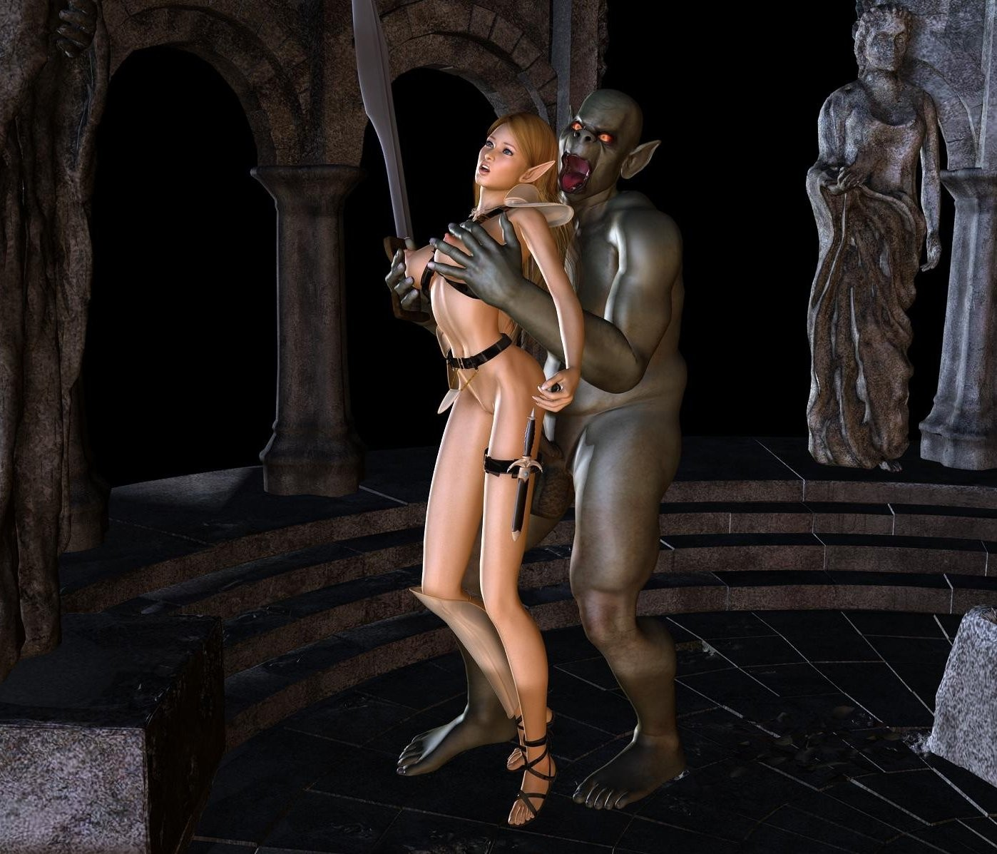 Orcs and elves sex porn sexy image