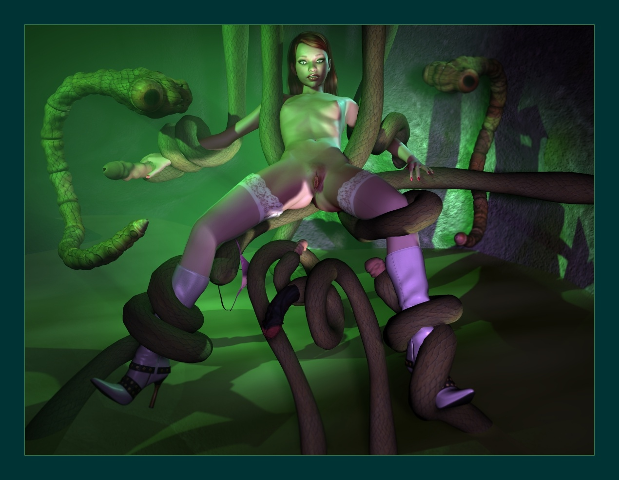 Animated creature porn sex photo